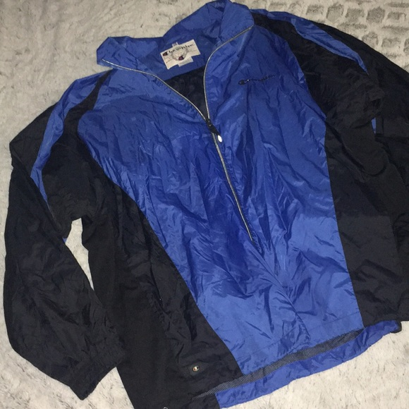 replicas shop for newest great varieties New Men's Champion Blue Windbreaker